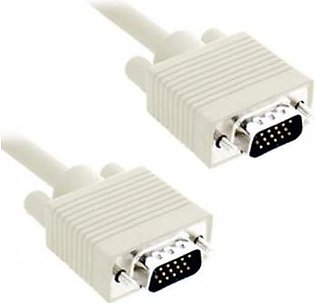 Vga Cable Male To Male OD 8MM 5M