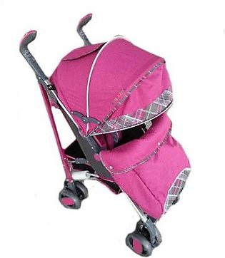 Baby Pram 4 Wheel - Purple