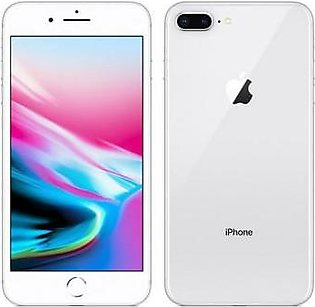 Apple iPhone 8 Plus (4G, 64GB, Silver) American Used Stock - PTA Approved