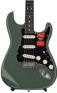 Fender American Professional Stratocaster - Antique Olive w/ Maple Fingerboard