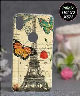 Infinix Hot S3 X573 Cover - Eiffal Tower Cover (D1)