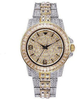 Luxury 18K White Gold Plated Watch For Women