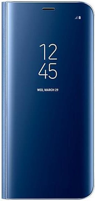 Samsung Galaxy S8 Led View Standing Cover (Blue)