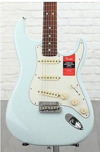 Fender American Professional Stratocaster Sweetwater Exclusive - Sonic Blue w/ Roasted Maple Neck/Rosewood Fingerboard