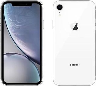 Apple iPhone XR (4G, 128GB, White) With Official Warranty
