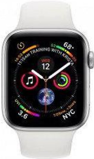 Apple Watch Series 4 MTVA2 -40mm GPS+Cellular Silver Aluminium Case With Whit...
