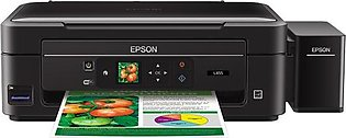 Epson EcoTank L455 All-in-One Printer (4 color,printer,scan,copy,wi-fi,1.44lcd,…