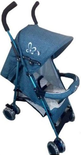 Baby Pram Buggy 4 Wheel light Blue