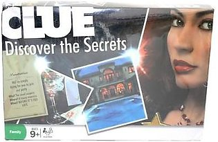Clue Intelligence Board Game