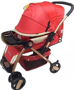 Baby Stroller 4 Wheels - Red