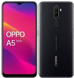 Oppo A5 2020 Dual Sim (4G, 4GB RAM, 128Gb ROM, Mirror Black) With 1 Year Offi...