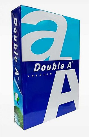 Double A A4 80gsm Paper Ream TR15312019