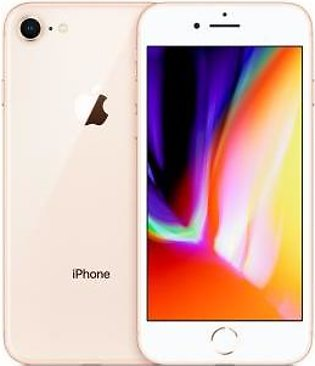 Apple iPhone 8 (4G, 64GB, Gold) American Used Stock - PTA Approved