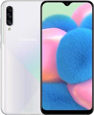 Samsung Galaxy A30s (4G, 4GB RAM, 128GB ROM,Crush White) With 1 Year Official...