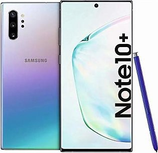 Samsung Galaxy Note 10 Dual Sim (4G, 8GB RAM, 256GB ROM,Aura Glow) With 1 Year Official Warranty