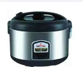 Westpoint WF-5350 - Deluxe Rice Cooker - Silver & Black