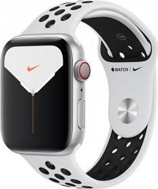 Apple Watch Series 5 MX392 Nike GPS + Cellular 44mm Silver Aluminum Case with...