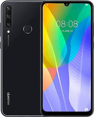 Huawei Y6p (4G, 3GB 64GB, Midnight Black) With Official Warranty