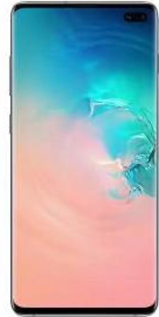 Samsung Galaxy S10 Plus Dual Sim (4G, 8GB RAM, 128GB ROM, White) - PTA Approved