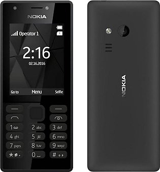 Nokia 216 Dual Sim Black With 1 Year Official Warranty