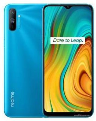 Realme C3 Dual Sim (4G, 3GB, 32GB,Frozen Blue) With Official Warranty