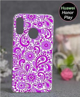 Huawei Honor Play Cover Case - Floral Cover (D5)