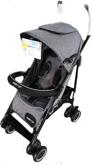 Baby Pram Buggy 4 Wheel Jeans Grey