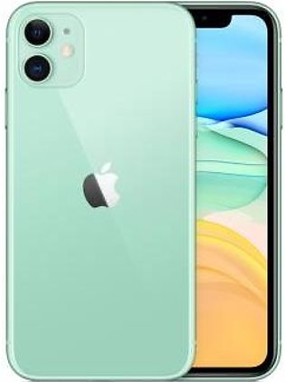 Apple iPhone 11 Dual Sim (4G, 128GB ,Green) - Non PTA