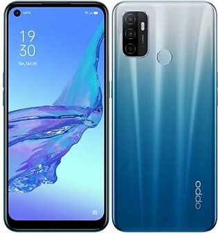 Oppo A53 (4G 4GB 64GB Fancy Blue) With Official Warranty