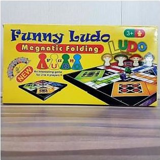 LUDO Magnetic Folding Family Board Game