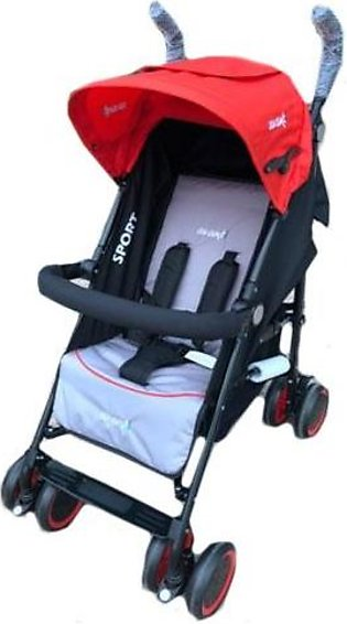 Sports Pram 4 Wheel Multicolour