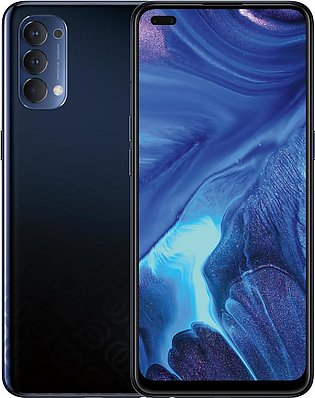 Oppo Reno4 (4G 8GB 128GB Space Black) With Official Warranty