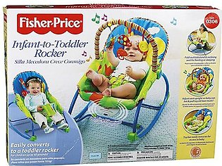 Fisher Price Infant-to-Toddler Rocker, Bug Friends