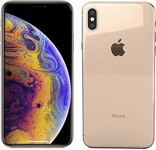 Apple iPhone XS Max Dual Sim (4G, 512GB, Gold) - Non PTA