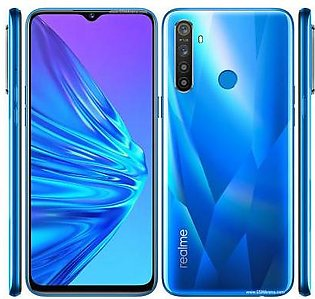 Realme 5 Dual Sim (4G, 4GB RAM, 64GB ROM) Blue With 1 Year Official Warranty