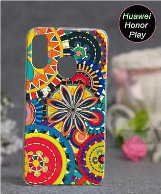 Huawei Honor Play Cover Case - Floral Cover (D11)