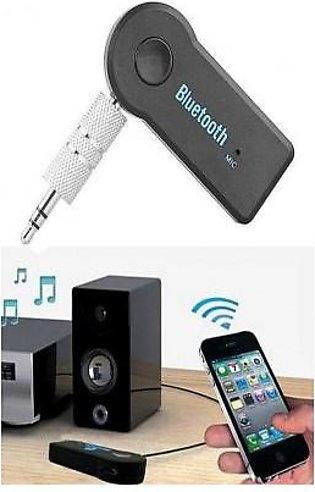 Car Bluetooth Receiver Adapter 3.5mm Aux Audio Stereo Music -