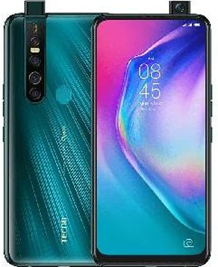 Tecno Camon 15 Pro (4G, 6GB, 128GB, Ice Jadeite) With Official Warranty