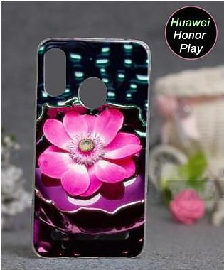 Huawei Honor Play Cover Case - Floral Cover (D14)