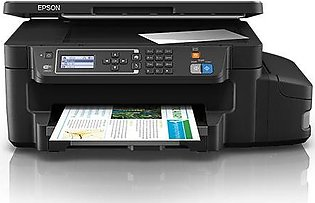Epson L605 Wi-Fi Duplex All-in-One Ink Tank Printer (1 Year Official Warranty)