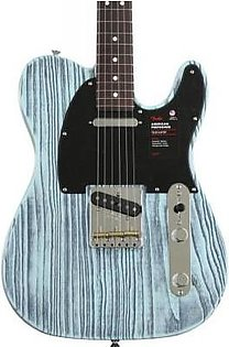 Fender American Performer Sandblasted Telecaster Sweetwater Exclusive - Daphne Blue