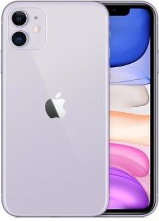 Apple iPhone 11 Dual Sim (4G, 64GB ,Purple) Non-PTA