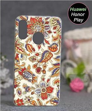 Huawei Honor Play Cover Case - Floral Cover (D1)