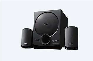 Sony SA-D20 2.1 Channel Multimedia Speaker System with Bluetooth (Black)