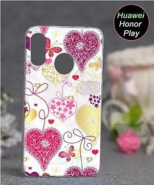 Huawei Honor Play Cover Case - Love Cover (D4)