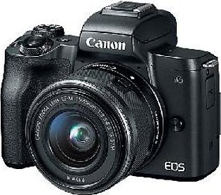 Canon EOS M50 Mirrorless Camera w/ EF-M 15-45mm Lens - Official Warranty