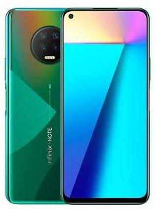 Infinix Note 7 Dual Sim (4G, 4GB, 128GB, Forest Green) With Official Warranty
