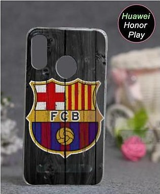 Huawei Honor Play Cover Case - Football Cover (D1)