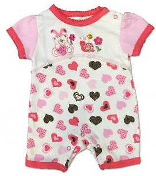 Interlocked Cotton Imported Romper For Baby Girl