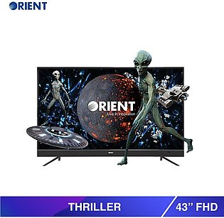 "Orient 43"" 43S FHD Thriller LED TV Black (Official Warranty)"